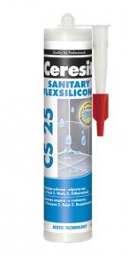 Герметик силиконовый Ceresit CS 25. 280 мл. Светло-серый №04. РБ.