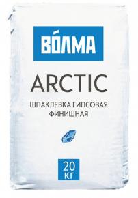 Шпатлевка гипсовая финишная ВОЛМА-Arctic. РФ. 20 кг.