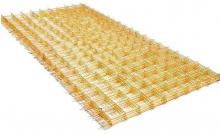 Сетка композитная 50 х 50 мм. Размер 1 х 2 м. Толщина прута 2 мм. Цена за карту. РБ.