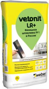 Vetonit LR+. Финишная. 20 кг. РФ.